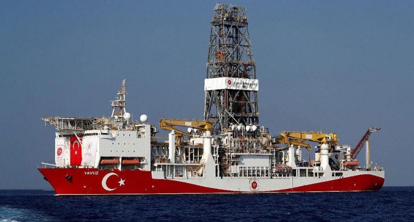 "Turkish drill ship ""Yavuz"" en route to Cyprus' EEZ"