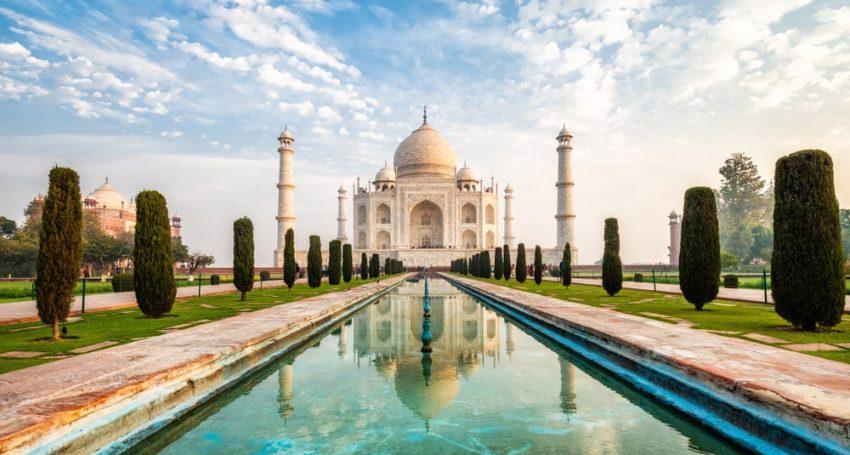 After 188 days of quarantine, the Taj Mahal opened